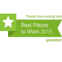 Glassdoor 2016  Best Place to Work